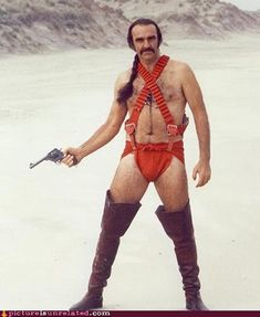 Sean Connery on his day off