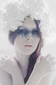 White Story March 12, 2011  Photographer: Kim Akrigg  Model: Mícheála  MUA: Me