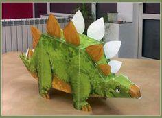 DePapercraftBlog: Stegosaurus Metrolekeland Papercraft