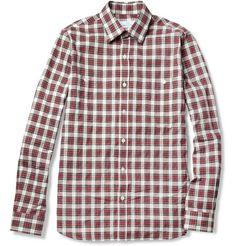 Hentsch ManLumber Tartan Slub Cotton Shirt
