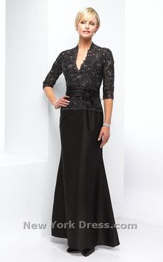 Mother of the Bride/groom dress Mother Of Groom Dresses, Bride Groom Dress, Mothers Dresses, Mother Of The Bride, Mom Dress, Dress Up, Dress Form, Lace Evening Gowns, Gowns With Sleeves