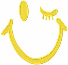 Smile free embroidery design - Cartoon free embroidery collection - Machine embroidery forum