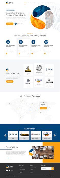 Homepage for a e-commerce brand holding company Design Ios, Homepage Design, Layout Design, Branding Design, Graphic Design, Website Design Inspiration, Design Thinking, Wireframe Mobile, Design Innovation