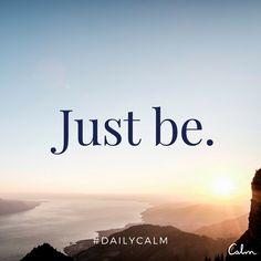 @calm #DailyCalm                                                                                                                                                                                 More