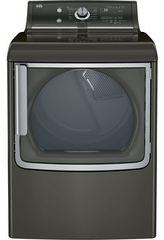 in Metallic Carbon by GE Appliances in Tulsa OK - GE® cu. capacity gas dryer with stainless steel drum and steam & Whirlpool 7.4 Cu. Ft. Large Capacity Gas Dryer with Hamper Door ...