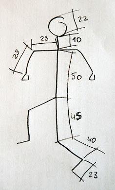 stopmocionate: Esqueleto articulado Wire Crafts, Paper Crafts, Wire Frame, Clay Dolls, Angles, Diy, Craft Ideas, School, Home