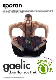 The Scotland of the imagination is a land of rolling green hills, kilt-wearing bagpipers, and crumbling castles. While you can find all of this in Scottish Man, Scottish Kilts, Scottish Gaelic, Men Dress Up, Highland Games, Men In Kilts, Komplette Outfits, Bearded Men, Mens Fitness