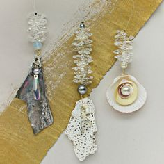 Mermaid Trinket Dangle DIY Pendants | AllFreeJewelryMaking.com