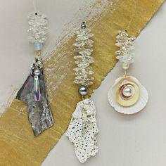 Mermaid Trinket Dangle DIY Pendants | AllFreeJewelryMaking.com