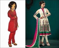 Salwar Kameez : Traditional Clothes of India and Pakistan