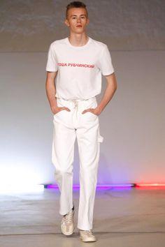 Gosha Rubchinskiy Menswear Spring Summer 2015 Paris