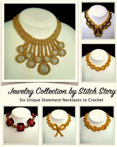 New #crochet jewelry pattern ebook from @stitchstory
