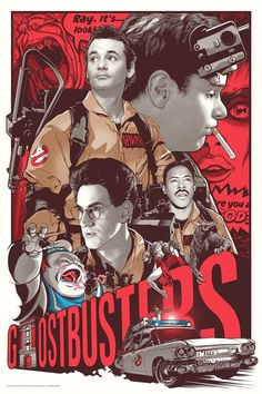 Ghostbusters by Joshua Budich