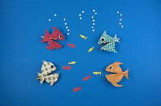 If you have extra clothespins lying around, you can create your own friendly fish! Your kids will love making these hungry fish swim around your house!