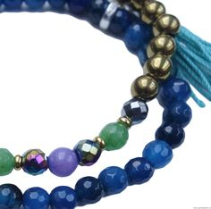 Zestaw druzy z medalionem 18 mm - hematyt Turquoise Bracelet, 18th, Swarovski, Beaded Bracelets, Jewelry, Fashion, Jewlery, Moda, Jewels