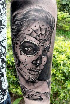 Tattoo Artist - Henry Anglas Padilla - Muerte tattoo