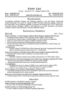 Technical manager resume example resume examples and sample resume chemical engineer resume example yelopaper Gallery