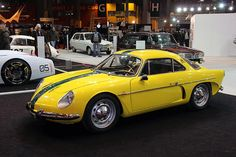Another iconic French car is the Alpine Renault A110 berlinette