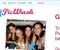 PICWASH design, html, core php