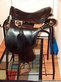 Trooper saddle, horsegroomingsupplies.com.