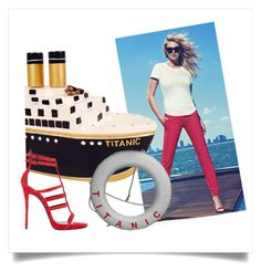 Titanic sailor by natipureidea on Polyvore featuring Giuseppe Zanotti and Timmy Woods Nautical Looks, Nautical Fashion, Titanic, Giuseppe Zanotti, Sailor, Woods, Slim, Polyvore, Bags