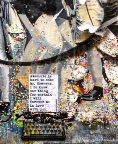 confetti falls forever #WRDSMTH #WRDSMTHinBerlin #flashback'