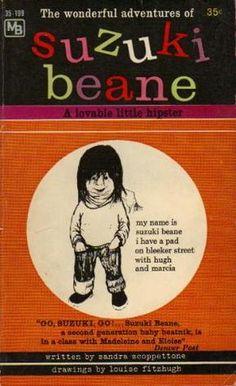 classic beatnik children's lit - Suzuki Beane by Louise Fitzhugh & Sandra Scoppettone