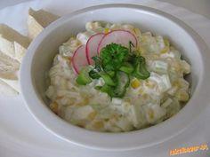 Uhorkovo kukuricový šalát