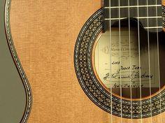 Manuel Contreras (guitarrero). Uno de los mejores artesanos de la guitarra clásica.