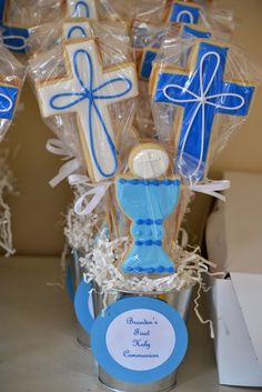 jackandy cookies: Communion Cookie Favors and Centerpieces