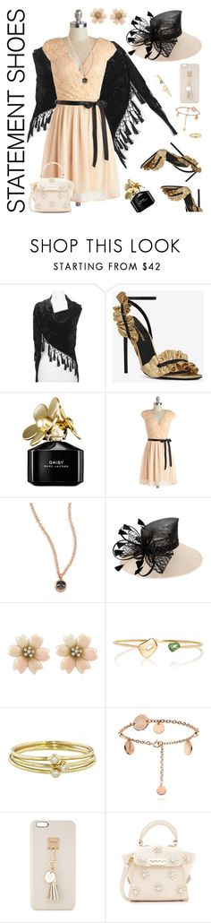 """Dress Up"" by petalp ❤ liked on Polyvore featuring Yves Saint Laurent, Marc Jacobs, ZoÃ« Chicco, Mattioli, Jennifer Meyer Jewelry, Iphoria, ZAC Zac Posen, dress and plus size dresses"