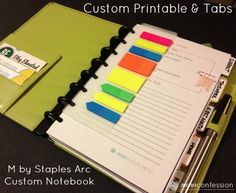 Organize your life and daily schedule with an Arc Customizable Notebook