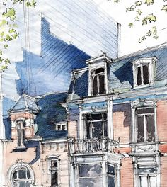 Trendy Ideas For Urban Landscape Drawing Perspective