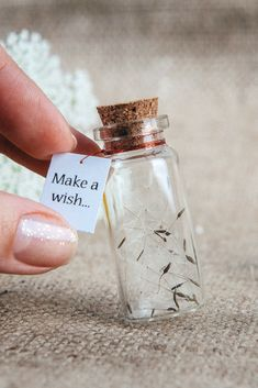 gifts for her Make a wish Magic charm bottle Personalized gift for her Dandelion seeds Wishing., Make a wish Magic charm bottle Personalized gift for her Dandelion seeds Wishing gift Wish in a bottle Gag gift Fairy bottle Wish jar So. Gag Gifts, Cute Gifts, Unique Gifts, Tiny Gifts, Baby Dekor, Magic Charms, Bottle Charms, Bottle Bottle, Bottle Necklace