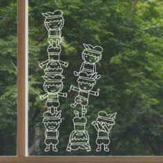 Pietjes toren raamtekening