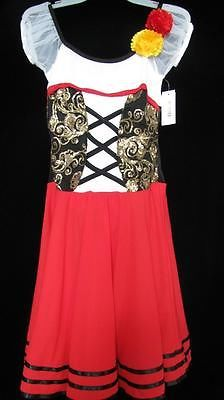 Maiden Peasant Wench Ballet Dance Costume Solo Adult Small | eBay