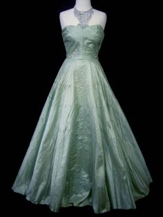 Magnificent PHILIP HULITAR Couture 50s Ball Gown Dress Matching Belt Bolero Gauntlet Gloves - 1950 Red Carpet Torch Singer Plunge Draped