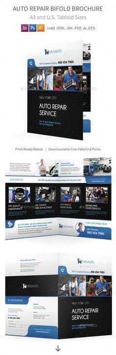 Indesign Business Brochure Bifold Template More Business - technology brochure template
