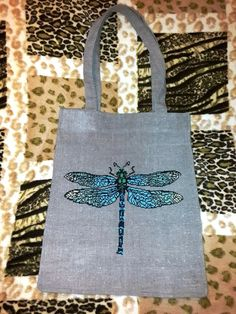 Eco-bag/Вag embroidered/Linen bag embroidered by Givemiracles