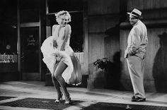 The Movies' Best-Loved Costumes - #2 - Marilyn Monroe as the Girl in The Seven Year Itch (1955)