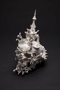 Katsuyo Aoki Predictive Dream Xlll, 2010, ceramic
