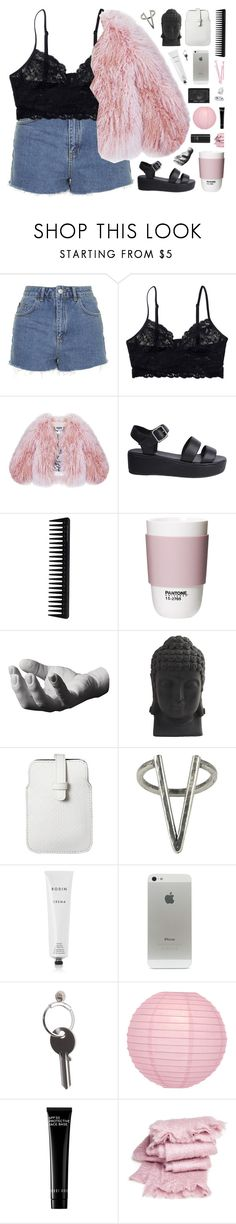"""""""WHERE A BOY LIVES BEHIND BRICKS"""" by siamesecat-1 ❤ liked on Polyvore featuring Topshop, Monki, Florence Bridge, Nude, GHD, ROOM COPENHAGEN, Harry Allen, Nearly Natural, Mossimo and The 2 Bandits"""