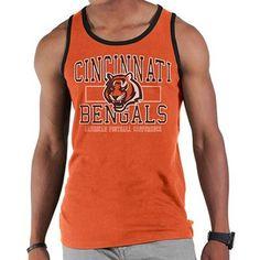 '47 Brand Cincinnati Bengals Till Dawn Tank Top - Orange