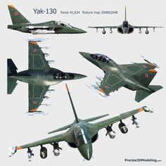 "Russian Yak-130 ""Mitten"" advanced jet trainer/ground attack aircraft."