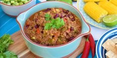 Chilli Con Carne with Veggie Salsa