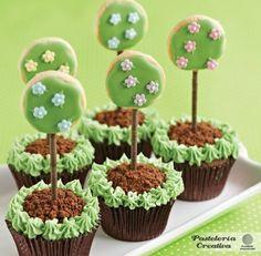 Cupcakes árbol