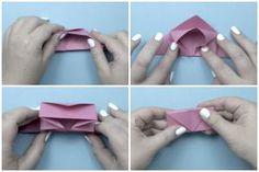 round origami box tutorial - Chrissy Pk