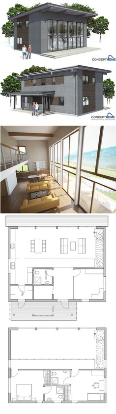 ^ - Haus, Small house plans and Small houses on Pinterest