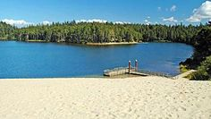 Blog about the ten best waterfront campsites in the USA.