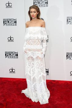 Gigi hadid 2016 American Music Awards - Arrivals